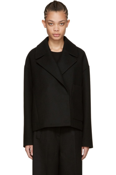 Cyclas - Black Cropped Pocket Jacket
