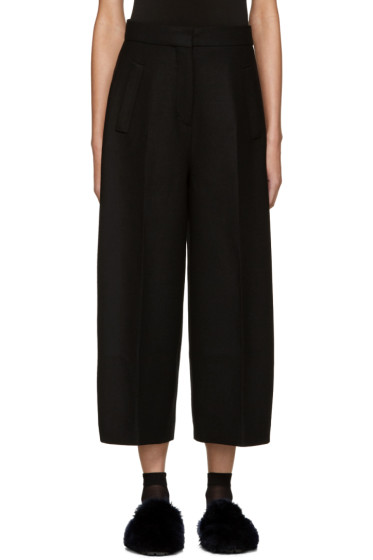 Cyclas - Black Curved Form Culottes