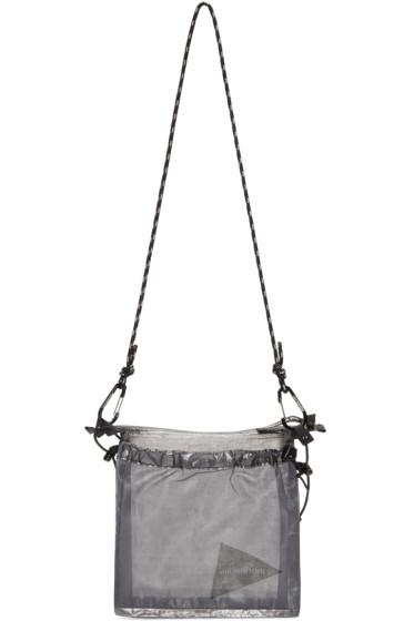 and Wander - Grey Cuben Fiber Shoulder Bag