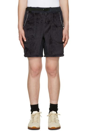 and Wander - Navy Fleece Shorts