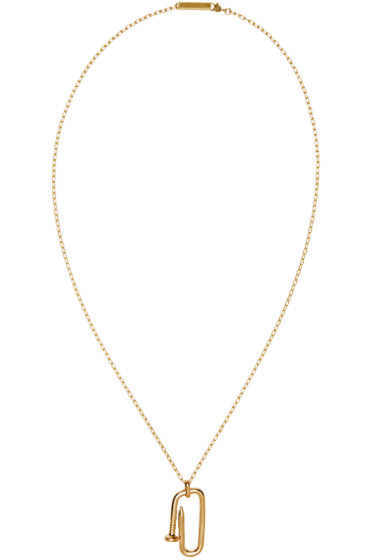 Ambush - Gold Kugi Necklace