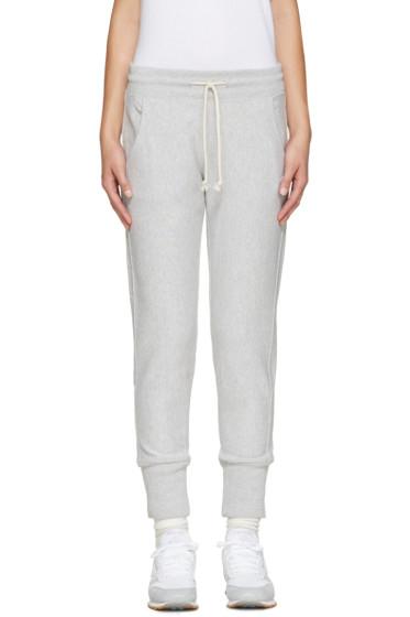 Champion Reverse Weave - Grey Small Logo Lounge Pants