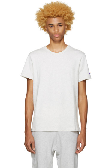 Champion Reverse Weave - Grey Heavy Jersey T-Shirt