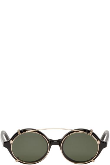 Han Kjobenhavn - Black Clip-On Doc Sunglasses
