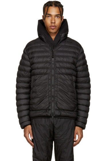 Stone Island - Black Down Jacket