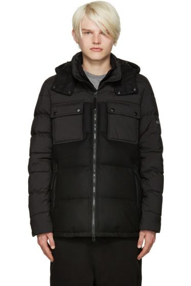 ISAORA - Black Down Combo Jacket