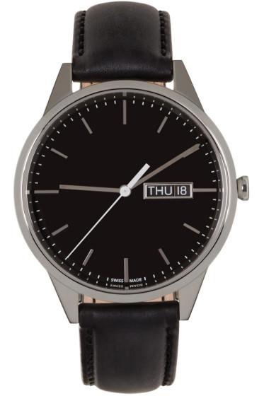 Uniform Wares - Silver & Black C40 Watch