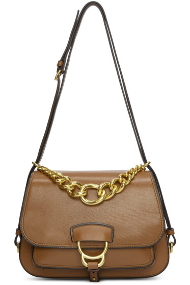 Miu Miu - Brown Dallas Satchel