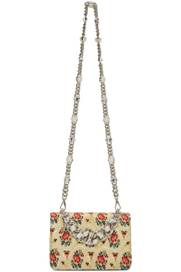 Miu Miu - Gold Tapestry Bag