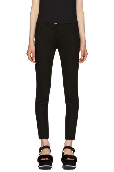 Miu Miu - Black Slim Cropped Trousers