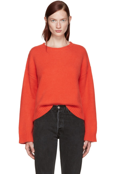 Wendelborn - Red Cashmere Sweater