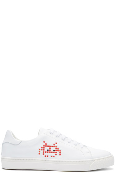 Anya Hindmarch - White Space Invader Tennis Sneakers