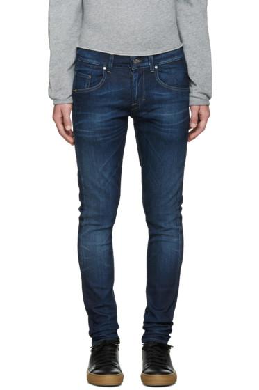 Tiger of Sweden Jeans - Blue Skinny Jeans