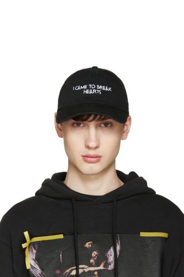 Nasaseasons - Black 'I Came To Break Hearts' Cap