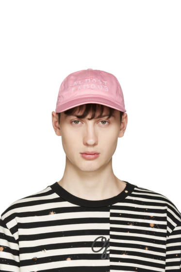 Nasaseasons - Pink 'Almost Famous' Cap