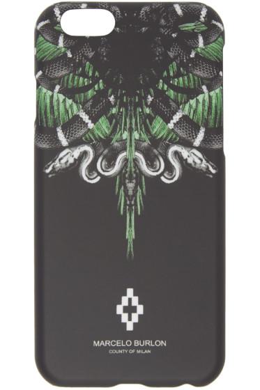 Marcelo Burlon County of Milan - Black Moa iPhone 6 Case