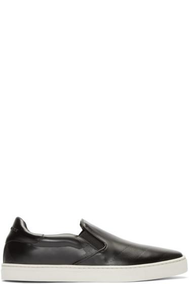 Burberry London - Black Slip-On Copford Sneakers