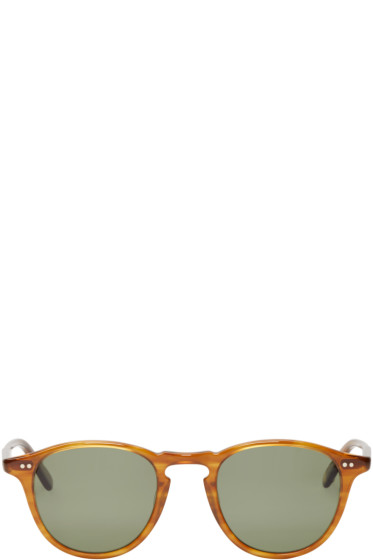 Garrett Leight - Brown Hampton Sunglasses