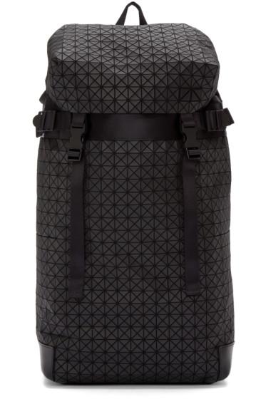 Bao Bao Issey Miyake - Black Geometric Matte Hiker Backpack