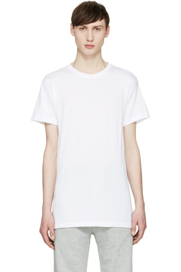 John Elliott - White Crewneck T-Shirt