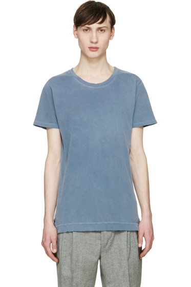 John Elliott - Blue Washed Mercer T-Shirt