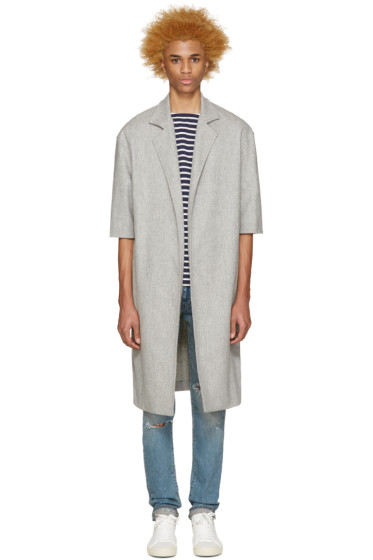 Fear of God - Grey Wool Overcoat