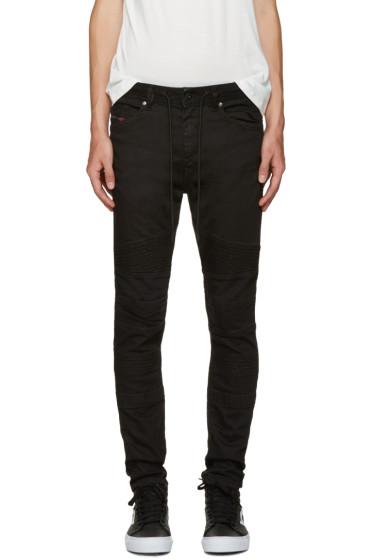 Diesel - Black Bakar-Ne Jogg Jeans