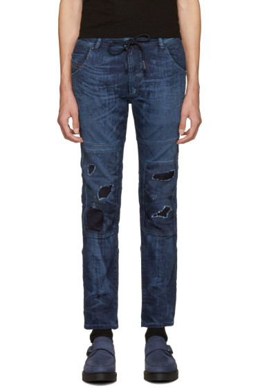 Diesel - Blue Krooley D-Ne Jogg Jeans