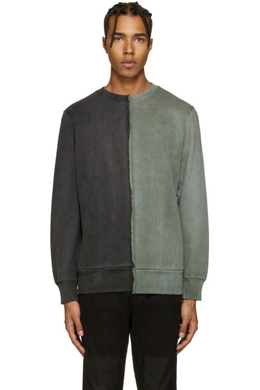Diesel - Black & Green S-Double Sweatshirt