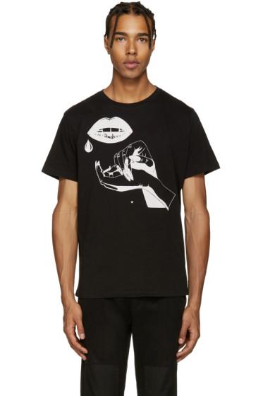 Diesel - Black T-Joe-HB Hands T-Shirt