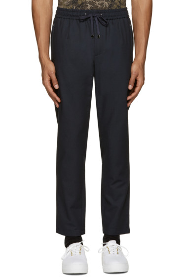 Dolce & Gabbana - Navy Drawstring Trousers