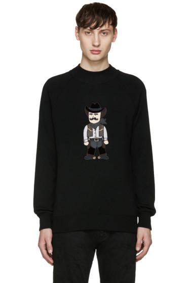 Dolce & Gabbana - Black Cowboy Sweater