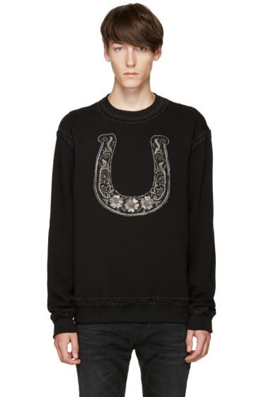 Dolce & Gabbana - Black Horseshoe Sweatshirt