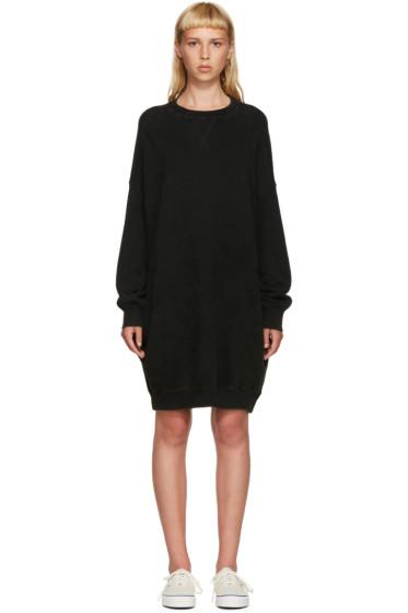 R13 - Black Oversized Pullover Dress