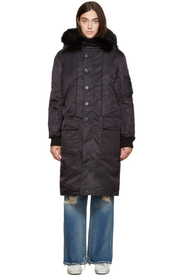 R13 - Black Down Parka