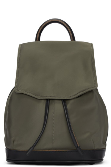 Rag & Bone - Green Mini Pilot Backpack