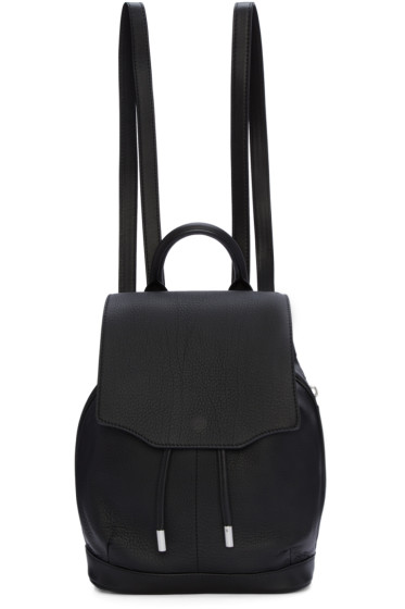 Rag & Bone - Black Mini Pilot Backpack