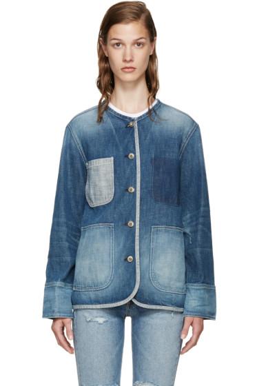 Rag & Bone - Blue Denim Santa Cruz Jacket