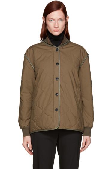 Rag & Bone - Green Quilted Addison Jacket