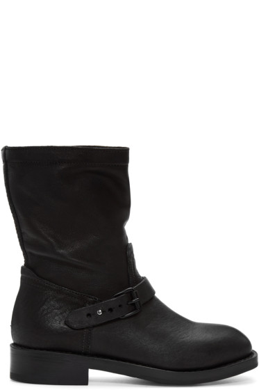 Rag & Bone - Black Oliver Moto Boots