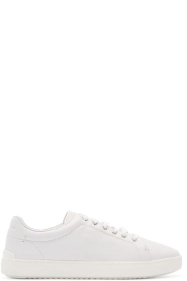 Rag & Bone - White Leather Kent Sneakers