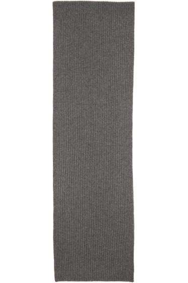 Rag & Bone - Grey Cashmere Kaden Scarf