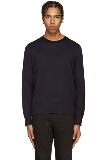 Rag & Bone - Black & Navy Dustin Sweater