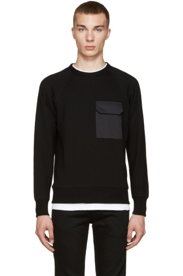 Rag & Bone - Black Aviator Pullover