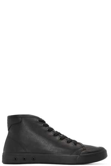 Rag & Bone - Black New Standard Issue High-Top Sneakers