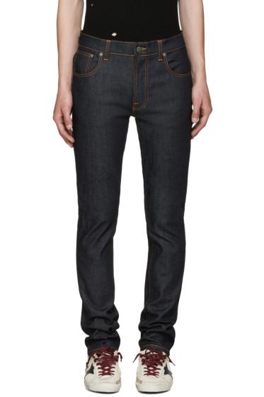 Nudie Jeans - Indigo Thin Finn Jeans