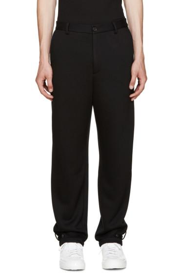 Public School - Black Noel Trousers