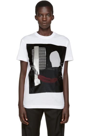 McQ Alexander Mcqueen - White Face T-Shirt
