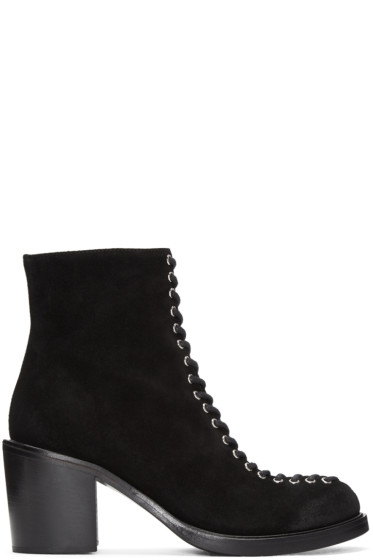 McQ Alexander Mcqueen - Black Laced Clapton Boots
