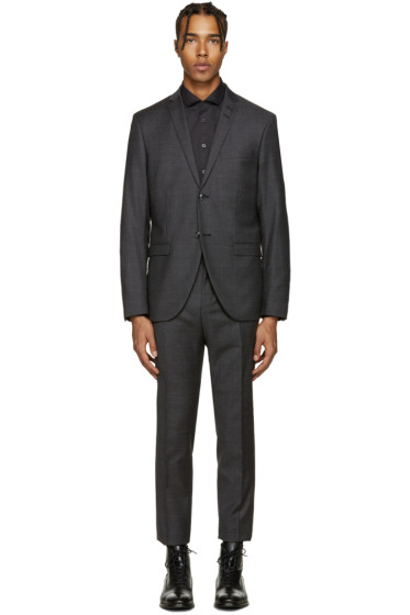 Tiger of Sweden - Grey Small Check Jill Suit
